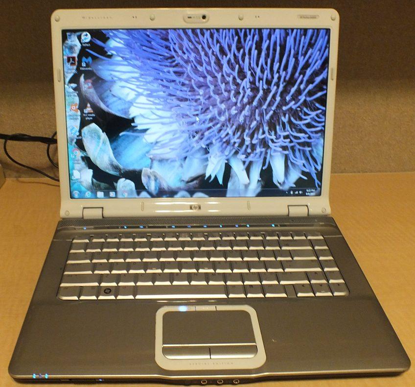 HP Pavilion dv6700 Refurbished Notebook PC – 15″ White